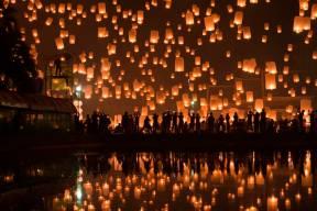 Beautiful Sky Lantern